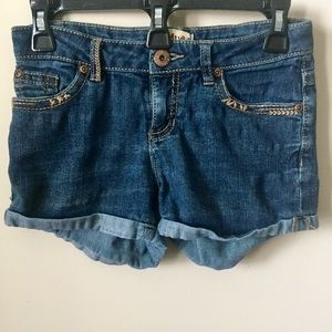 Mudd Sz12 Girls Denim Shorts